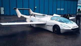 В Словакии испытали летающий автомобиль нового поколения