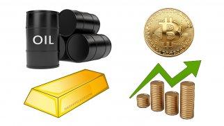 Золото, нефть, криптовалюты. Прогноз на 14-20 июня