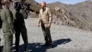Mehriban Əliyeva Kəlbəcər və Laçından video paylaşdı