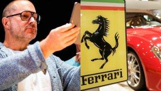 iPhonevəiPad-ındizayneri Ferrari-yə keçdi